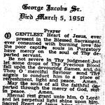 Jacobs, George Sr. - 1950