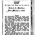 Hoeffner, Robert A. - 1960