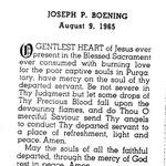 Boening, Joseph P. - 1965
