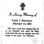 Hartmann, Frank J. - 1982