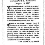 Boening, Geradine - 1993