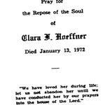 Hoeffner, Clara F. - 1972