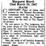 March, Margaret - 1947