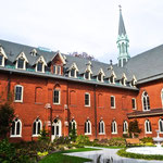 Courtyard of the Dominican Sisters Motherhouse