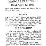 Ulrich, Margaret - 1939