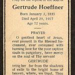 Hoeffner, Gertrude - 1917