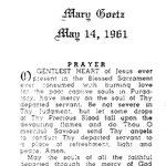 Goetz, Mary - 1961