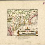 1700 (circa) - Nicolas J. Visscher - New Netherland, Mid Atlantic states  of New York, New Jersey and Delaware