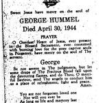 Hummel, George - 1944