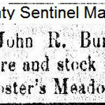 Queens County Sentinel  - John R. Burtis - March 28, 1866