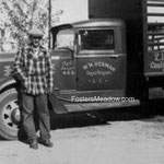 Herman, Henry and his brother William's farm truck - 1939