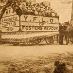 Young Farmers Light Guard float - Captain Karkheck - 1909