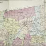 1873 Beers map - Queens County - Atlas of Long Island. - Note part of Queens County of 1873, not current Queens County