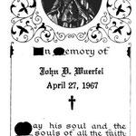 Wuerfel, John D. - 1967