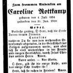 Rottkamp, Caroline - 1910