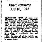 Rottkamp, Albert - 1973