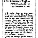 Hoeffner, Lorraine - 1989