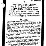 Rottkamp, Bernard - 1915