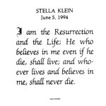 Klein, Stella - 1994