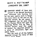 Rottkamp, Mary A. -  1967