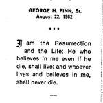 Finn, George H. Sr - 1982