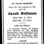Hoffman, Jacob - 1922