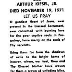 Kiesel, Arthur, Jr. - 1971