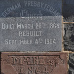 Cornerstone: St. Paul's German Presbyterian, Elmont Rd., Elmont