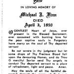 Finn, Michael J. - 1950