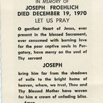 Froehlich, Joseph F. - 1978