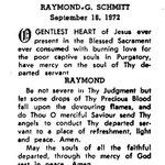Schmitt, Raymond G. - 1972