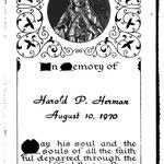 Herman, Harold P. - 1970