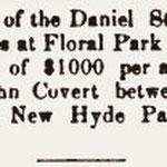 Hempstead Sentinel - Daniel Stattel Farm Sale - May 25, 1905