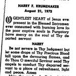 Krumenaker, Harry F. - 1973