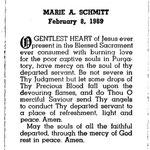 Schmitt, Marie A. - 1969