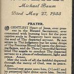 Baum, Michael-  1933