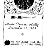 Reilly, Marie Frances - 1965