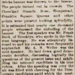 Hempstead Inquirer - Political Gathering - Oct. 17, 1884