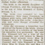 Brooklyn Daily Eagle - Miss Caroline Froelich to Marry Valley Stream Man - Jan. 3, 1915