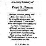 Herman, Ralph G . - 2002