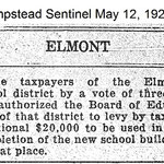 Hempsteads Sentinel - Additional Money New School - May 12, 1921