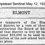 Hempsteads Sentinel - Additional Money New School - May 12, 1921