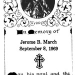March, Jerome B. - 1969