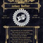 Hoeffner, Anthony  - 1901