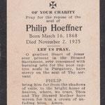 Hoeffner, Philip - 1925