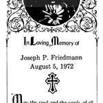 Friedmann, Joseph P. - 1972