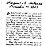 Hoffman, Margaret A. - 1965