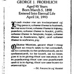 Froehlich, George J. - 1993