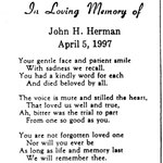 Herman, John H. - 1997