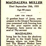 Muller, Magdalena - 1935